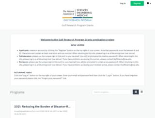 gulfresearchprogram.fluidreview.com screenshot