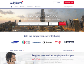 gulftalent.com screenshot