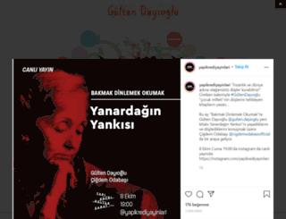 gultendayioglu.com screenshot