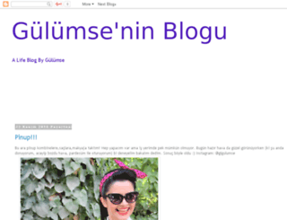 gulumseninblogu.blogspot.com screenshot