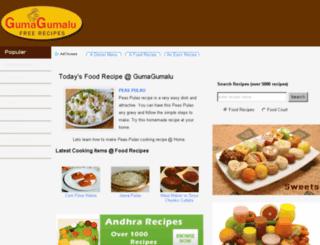 gumagumalu.com screenshot
