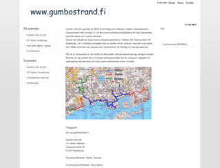 gumbostrand.fi screenshot