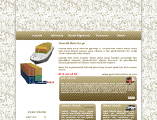 gumrukmotokurye.com screenshot