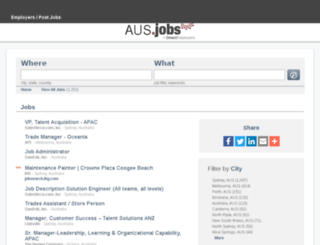 gumtree.com.au.jobs screenshot
