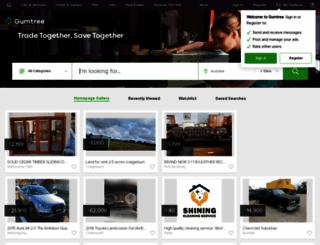 gumtree.com.au screenshot