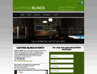 gumtreeblinds.com.au screenshot