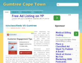 gumtreecapetown.info screenshot