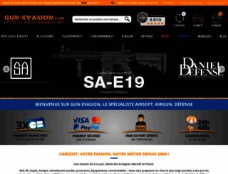 gun-evasion.com screenshot
