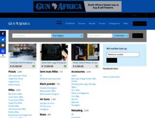 gunafrica.co.za screenshot