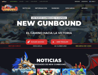 gunbound.softnyx-latino.net screenshot