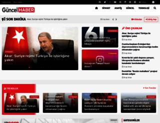 guncel-haber.com screenshot