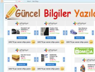 guncelbilgiyazar.blogspot.com screenshot