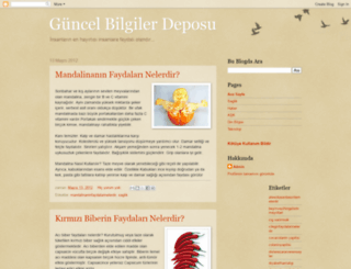 gunceldusunce.blogspot.com screenshot