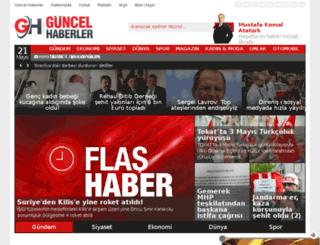 guncelhaberler.net screenshot