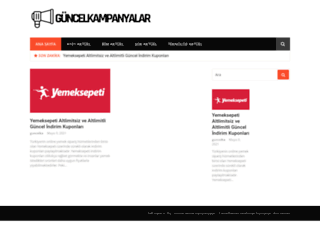 guncelkampanyalar.com screenshot