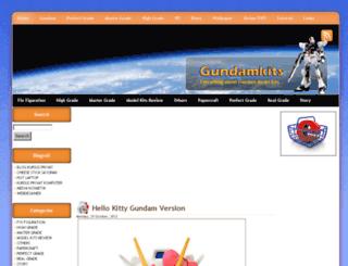 gundamkits.com screenshot