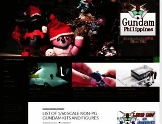 gundamph.com screenshot