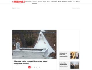 gundem.milliyet.com.tr screenshot