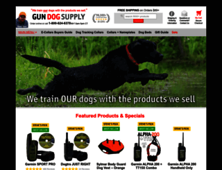 gundogsupply.com screenshot