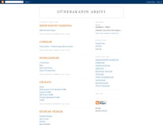 gunebakantarlalariarsivi.blogspot.com screenshot