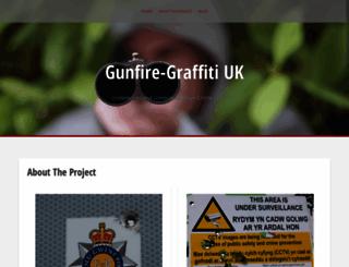gunfire-graffiti.co.uk screenshot