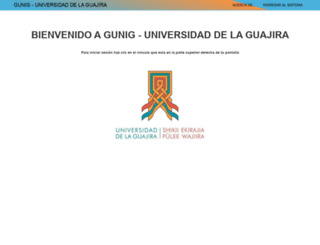 gunig.uniguajira.edu.co screenshot