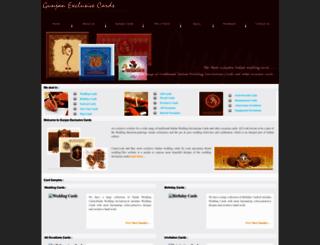 gunjancards.com screenshot