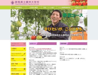 gunma-iaf.ac.jp screenshot