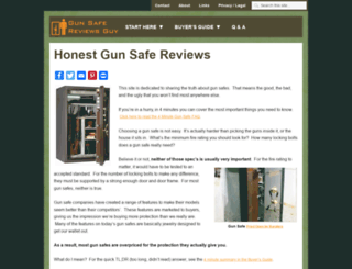 gunsafereviewsguy.com screenshot