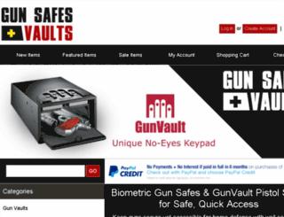 gunsafesplusvaults.com screenshot