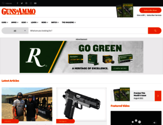 gunsandammomag.com screenshot