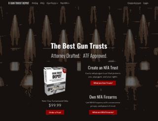 guntrustdepot.com screenshot