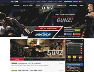 gunz.kaybo.com screenshot