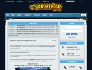 gunzodus.net screenshot