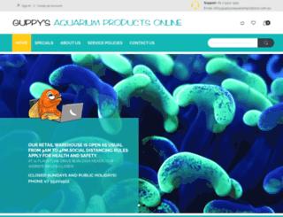 guppysaquariumproducts.com.au screenshot