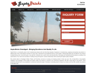 guptabricks.com screenshot