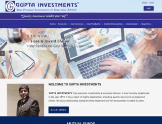 guptainvestments.com screenshot