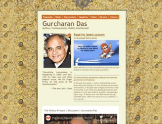 gurcharandas.org screenshot