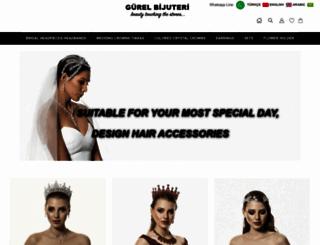 gurelbijuteri.com screenshot