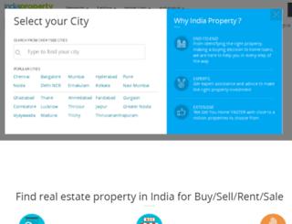gurgaon.indiaproperty.com screenshot