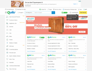 gurgaon.quikr.com screenshot