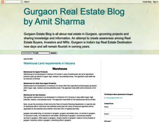 gurgaonestate.blogspot.in screenshot