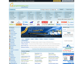 gurgaonindustry.com screenshot
