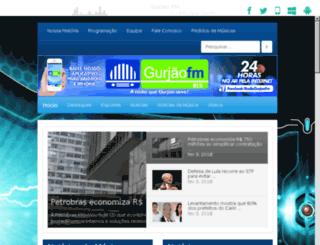 gurjaofm.com.br screenshot