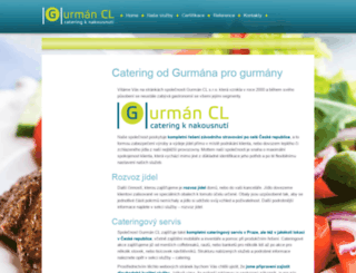 gurmancl.cz screenshot