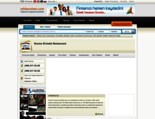 gurmeetbalikrestaurant.rehberalem.com screenshot