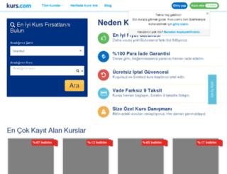 gurmenegitim.kurs.com screenshot