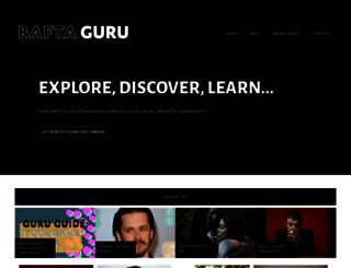 guru.bafta.org screenshot