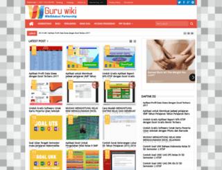 guru.wikiedukasi.com screenshot