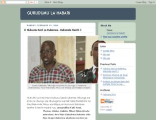 gurudumulahabari.blogspot.com screenshot